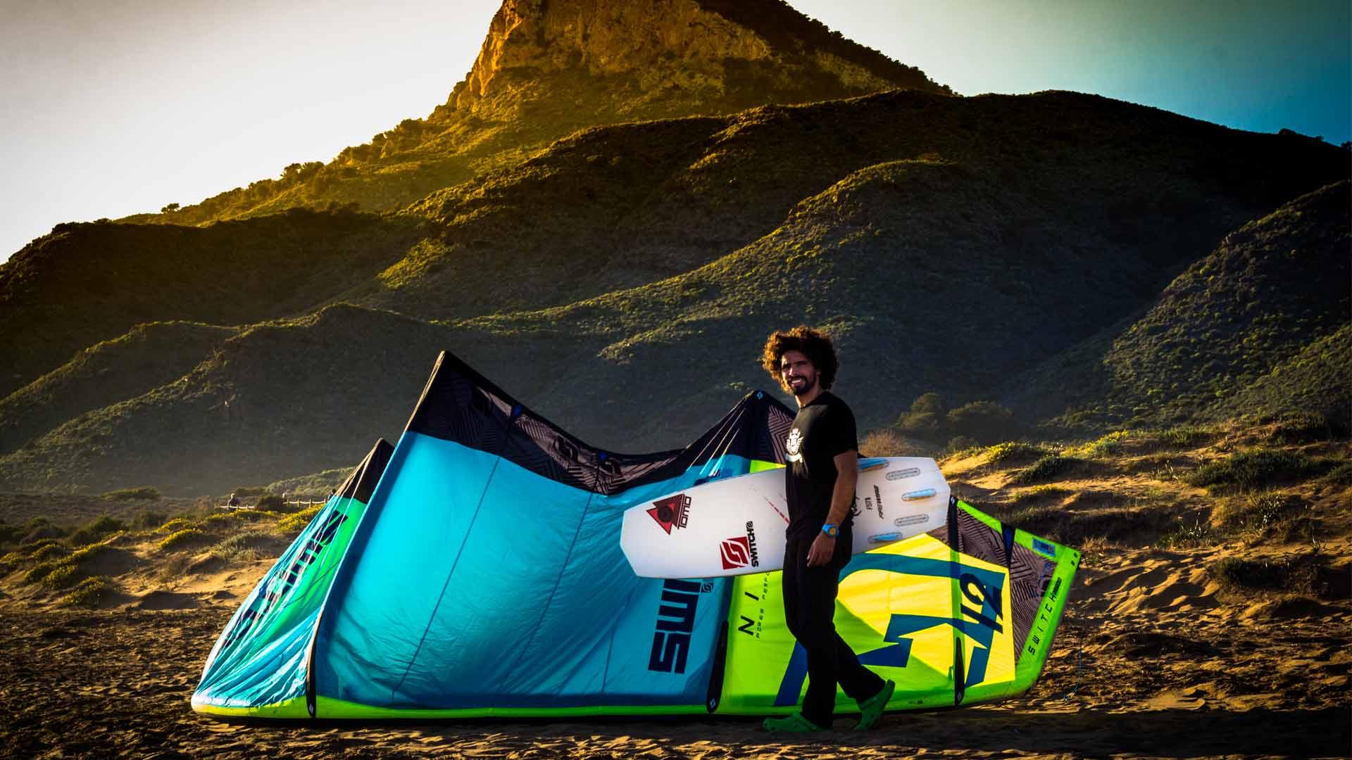 Gernavarro.com kitesurf calblanque switchkites firewire surfboards LOW