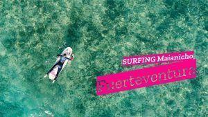 gernavarro.com fuerteventura surfing majanicho drone phantom 4 aprendiendo a surfear