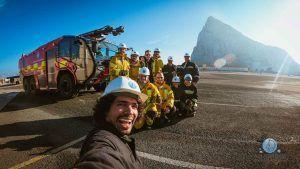 gernavarro-allabroad-stcw-gibraltar-fire formación básica de Seguridad
