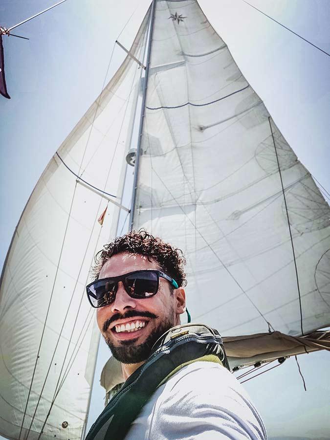 Ger navarro sailing yachtmaster offshore skipper patron de yate capitan de yate 2